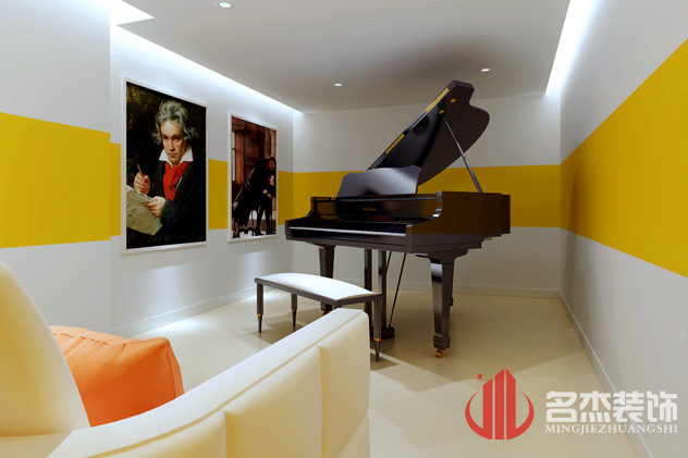 案例展示 钢琴室装修