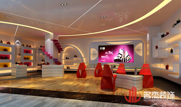 美容科技展厅设计
