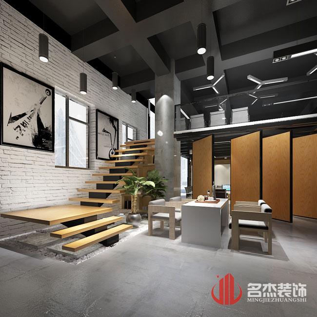 电商办公室装修效果图-广州加可斯商贸办公室设计装修