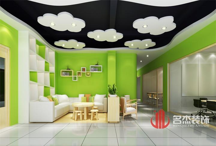 广州黄浦区教育培训机构装修设计|教育培训机构|名杰