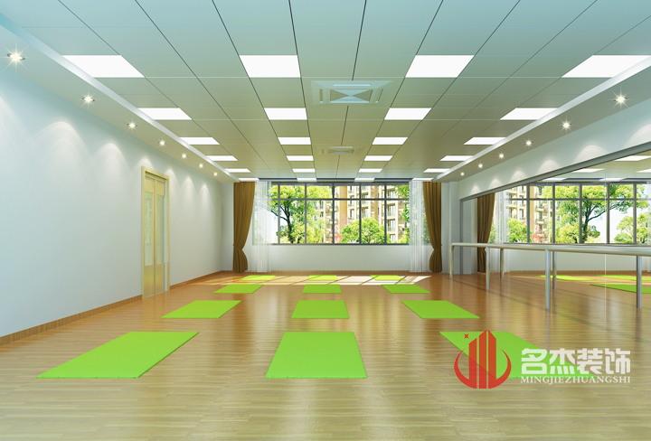 培训机构之舞蹈区装修设计-广州黄浦区教育培训机构装修设计高清图片