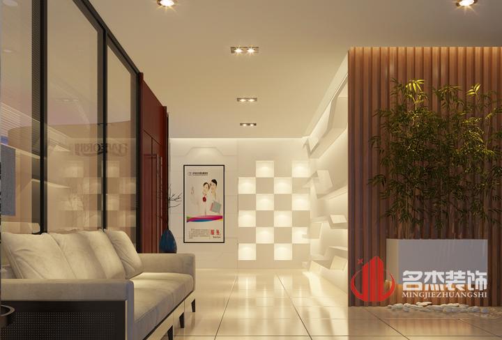 办公室装修设计效果图之形象墙