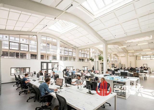 开放式仓库办公室装修设计案例