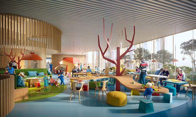 儿童医院设计效果图
