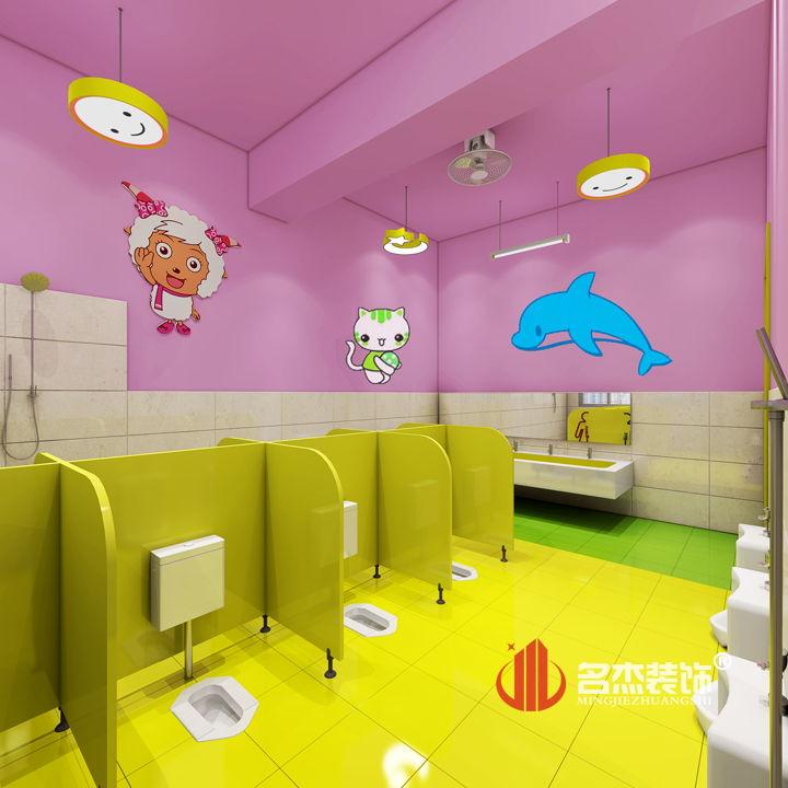 案例展示 幼儿园装修之卫生间设计图片