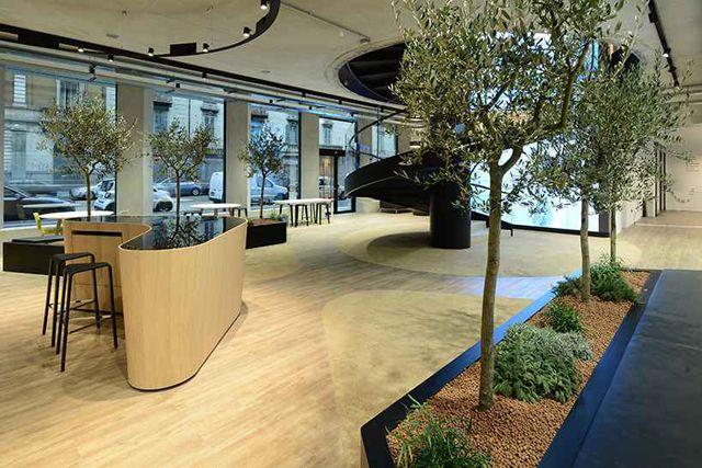捕获到微软总部创意办公室装修设计图片
