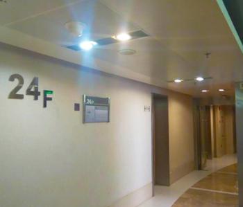 中洲中心办公室装修项目完工照