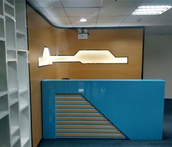 宏户医疗办公室装修完工照