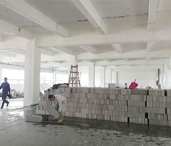 龙洞1000平方厂房装修项目开工啦!