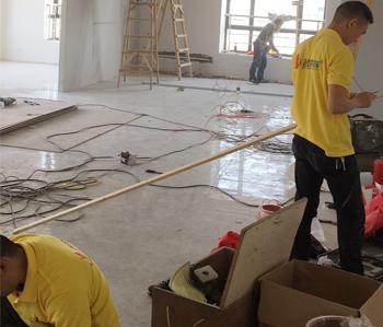 300平方科技办公室装修项目开工啦!
