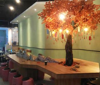 天河区餐厅装修完工实景图来啦!