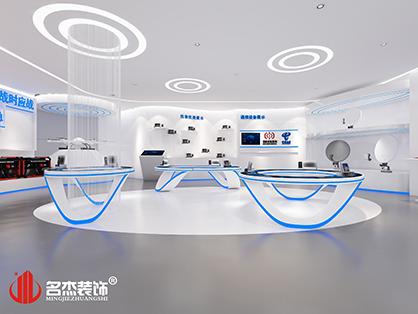 广东机电通信局展厅装修初露雏形