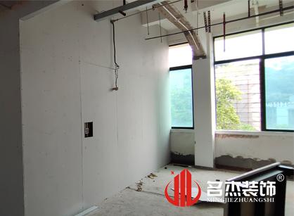 巡工地日记,广州立高食品办公室装修项目进行中