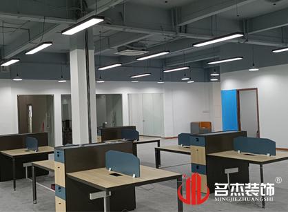 巡工地日记,菱悦科技办公室装修项目进行中