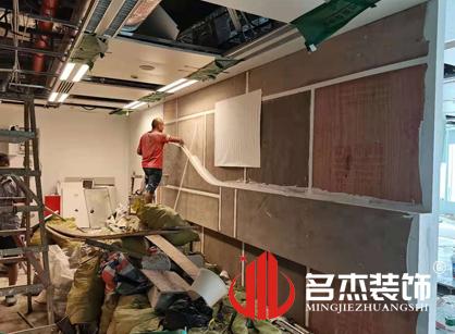 巡工地日记,圆原元网络科技办公室装修项目进行中
