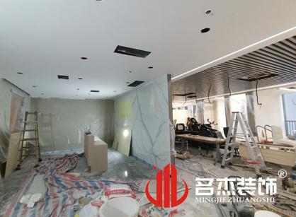 巡工地日记,南讯股份办公室装修项目紧张进行中