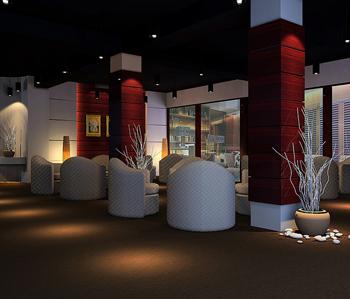红酒展厅装修设计