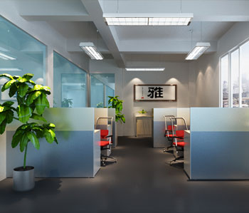 广州博文科技公司厂房装修设计
