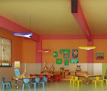 小太阳幼儿园装修设计