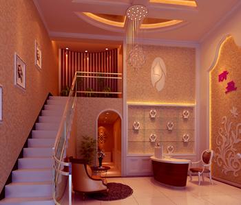 晴盈纤体美容养生院装饰设计