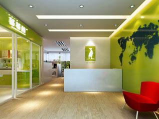 赣州袋鼠系统技术公司办公室装修设计