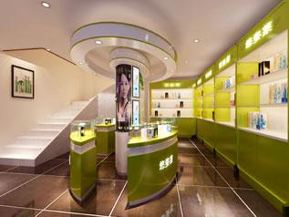 化妆品专柜展厅装修设计
