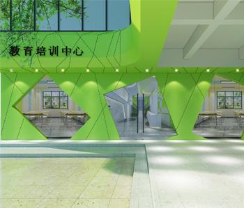 广州黄浦区教育培训机构装修设计