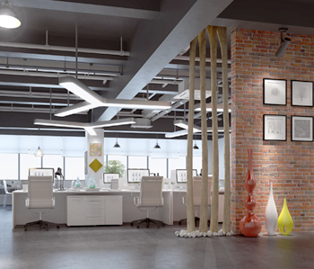 海珠创意产业园办公室装修