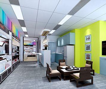 伊菲斯生物科技办公室装修设计