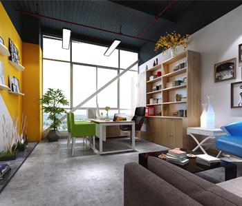 番禺电子商务园办公室装修设计