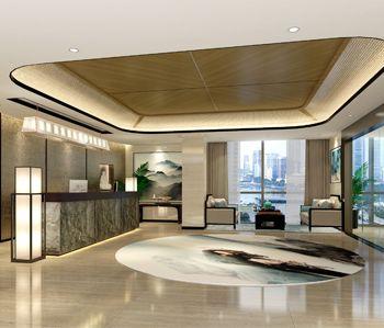 萝岗亨溢实业有限公司办公室设计