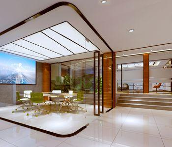 广东新业混泥土公司办公楼装修设计