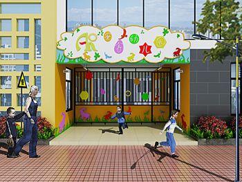 广州安睿幼儿园装修设计