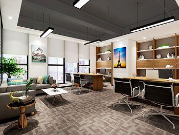 宝立顿钢索创意办公室装修