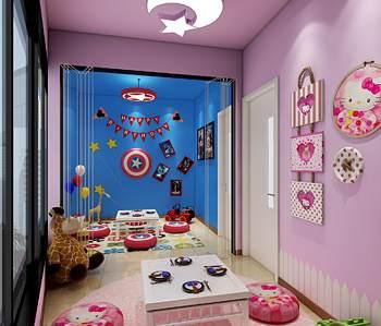 吉咪布丁儿童餐厅设计