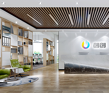 广州创创文化传播有限公司办公室装修
