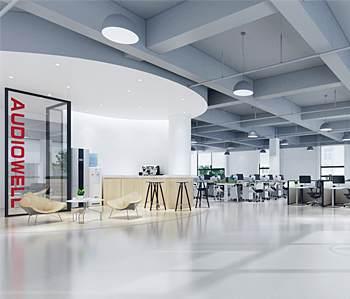 肇庆奥迪威科技办公室装修设计