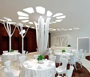 """""""树""""咖啡厅装修设计"""
