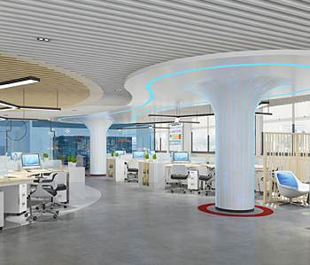 广州金鹏集团有限公司办公室设计