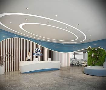广州四极科技有限公司办公室装修