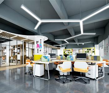 增城空间密码办公室装修
