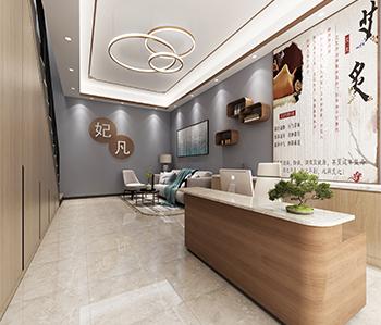 金峰城针灸店装修