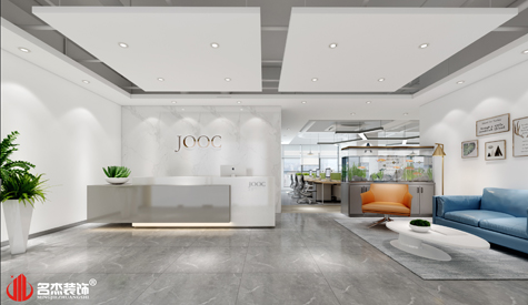 广州办公室装修-财富广场效果图