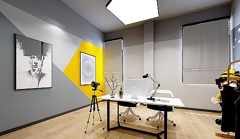 新秀文化传媒办公室装修设计