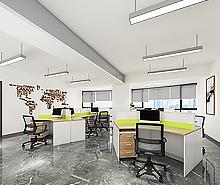 一品文化发展个性办公室装修设计