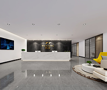 伟龙金溢科技公司办公室装修设计