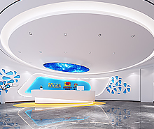 英达辉药业办公室装修设计