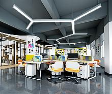 广州开吉服装办公室设计