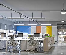 理想资讯科技办公室装修设计