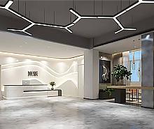 米乐皮具办公室空间装修设计